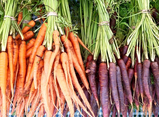Carrot bunches in Chicago
