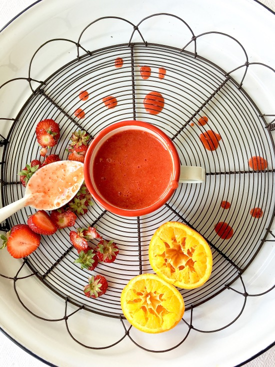 Strawberry-orange-smoothie